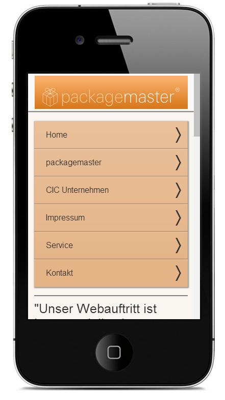 mobile websites für reiseveranstalter